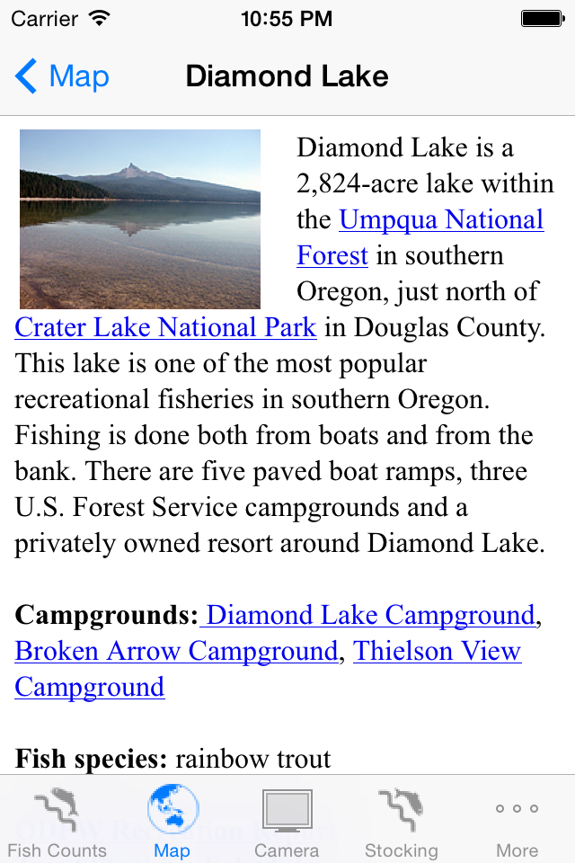 FishCount Lake ScreenShot